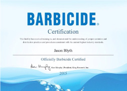 barbicide approved hygiene certificate mens barber