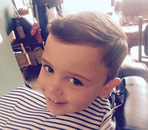boys haircut choppy quiff kettering barbershop