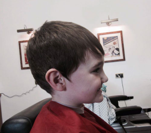 boys haircut mod cut kettering barbershop