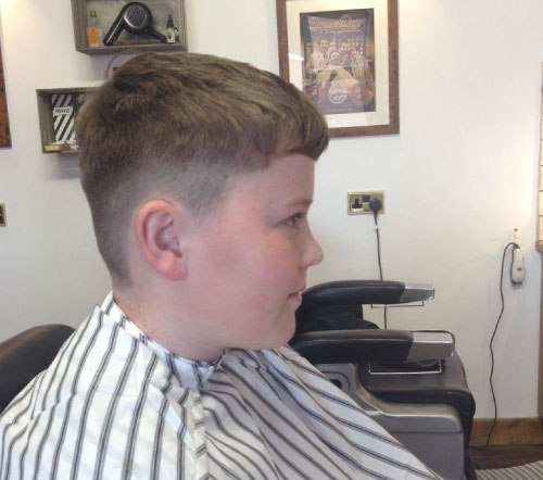boys haircut short back and sides kettering barbershop