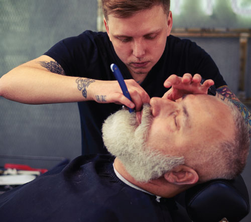 mens hair training beard trims kettering