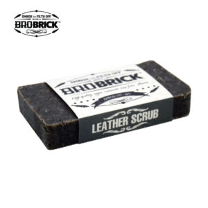BroBrick men Leather Scrub scented soap Alberta