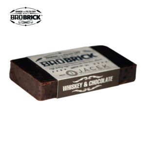 BroBrick vegan soap Whiskey and Chocolate babershop