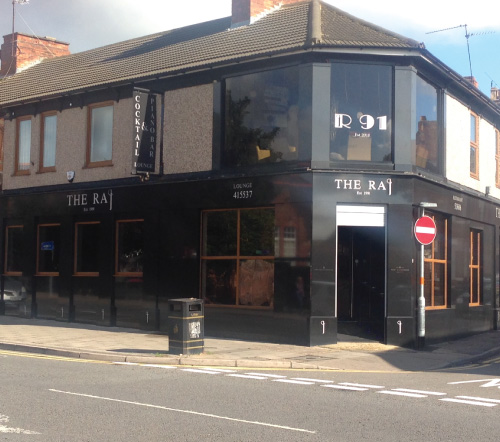 the raj Indian curry restaurant Kettering