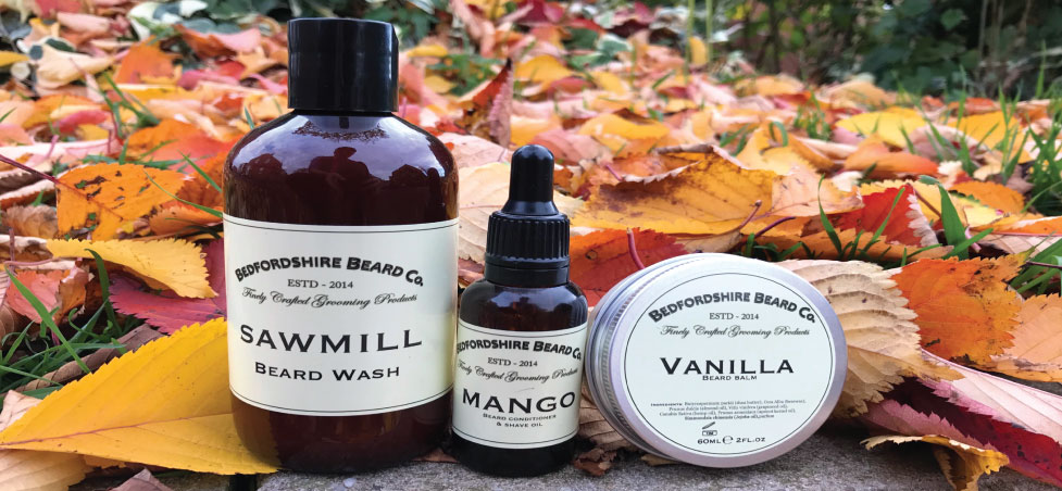 Bedfordshire Beard Co products barbershop
