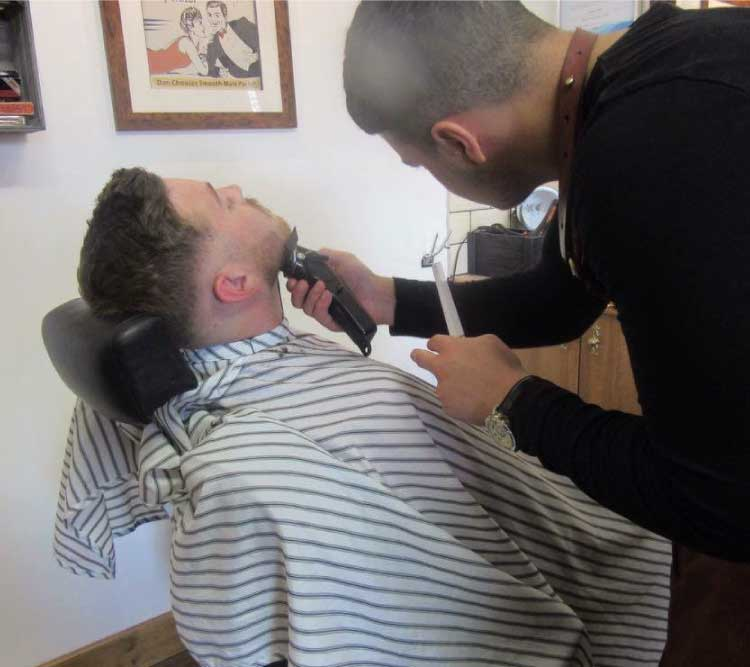 kealan mens haircut barbershop kettering