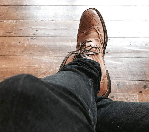 Mens Classic Brogues Shoes Great Style Tips For Men This Winter